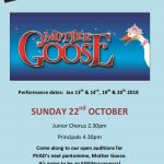 Mother goose audition