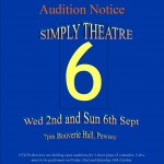 PVADS Simply Theatre 6 auditions