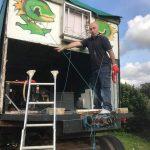 Steve carnival float